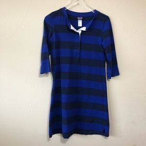 Patagonia | Blue Striped Rugby Dress